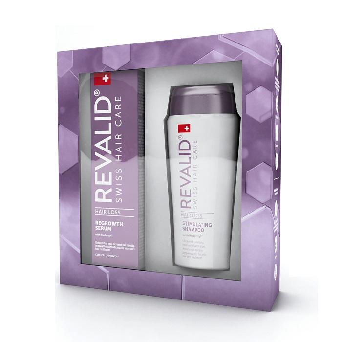 Ser contra căderii părului și șampon stimulator Revalid