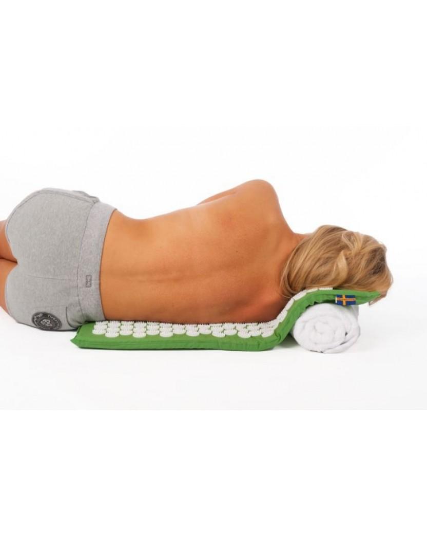 Saltea de presopunctură și relaxare sau unguent pentru dureri de spate?